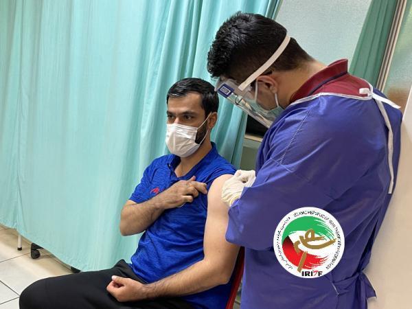 تزریق واکسن کرونا به ملی پوشان پاراتکواندو